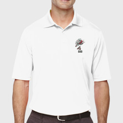 Squadron 4 Dad Performance Polo